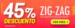 45% Dcto Editorial Zigzag
