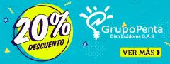 20% DCTO - Grupo Penta