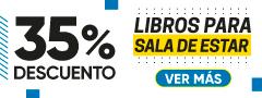 35% Dcto Libros para Sala de Estar