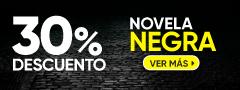 30% Dcto Novela Negra