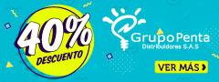40% DCTO - Grupo Penta