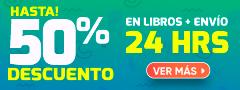 Hasta 50% Dcto en Libros Envío 24 horas