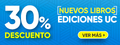 30% DCTO - Nuevo Libros Ediciones UC