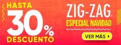 Hasta 30% Dcto Editorial Zigzag
