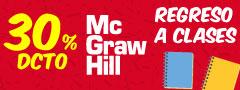 30% DCTO - MC GRAW HILL - Regreso a Clases