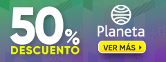 50% Descuento Planeta
