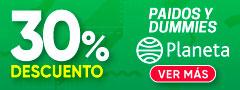 30% DCTO - Paidos y Dummies - Planeta