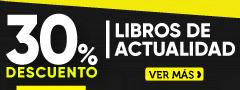 30% dcto Libros de Actualidad