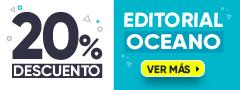 20% DCTO - Libros Editorial Oceano