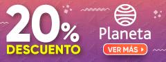 20% DCTO - TODO EDITORIAL PLANETA