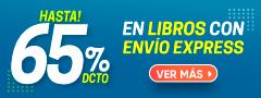 Hasta 65% DCTO - Libros con envío express