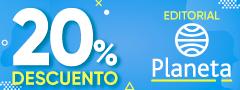 20% de descuento en Editorial Planeta