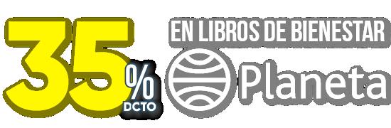 35% DCTO en Libros de Bienestar