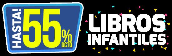 Hasta 55% dcto Libros infantiles