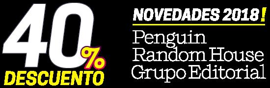 40% de descuento en Novedades 2018 Random House Penguin