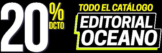 20% en todo Editorial Oceano
