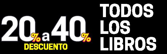 Mayo al ROJO: Todos los Libros con 20% a 40% de Descuento