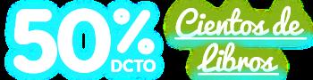 50% DCTO - Cientos de Libros